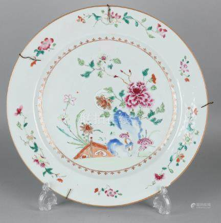 Very large 18th century Chinese porcelain Family Rose