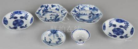 Lot of various Chinese porcelain. Consisting of: Two