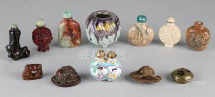 Eleven share various Chinese objects. Consisting of: