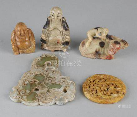Five times old / antique Chinese jade / soapstone