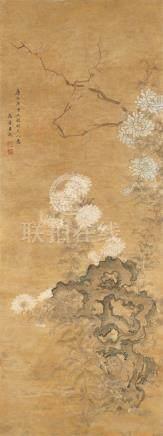 王武-仿元人花卉
