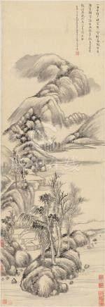 伊秉绶(款)-山水