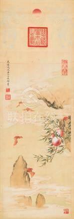 慈禧太后-福寿图