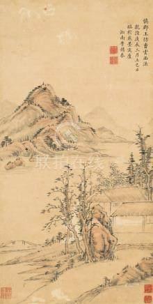 李锡泰-山水