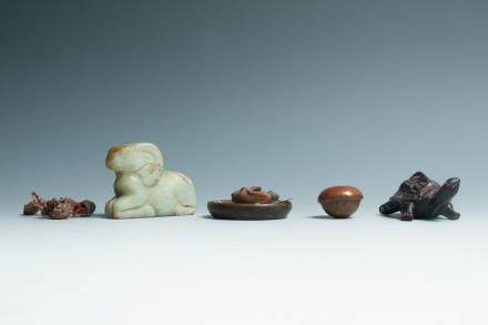 A SET OF SMALL OBJECTS