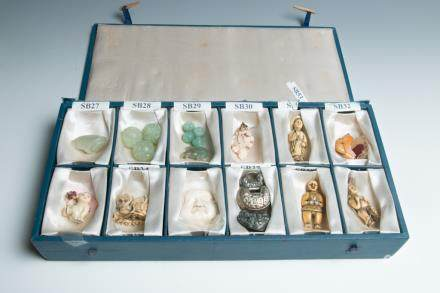 A SET OF TWELVE SMALL OBJECTS