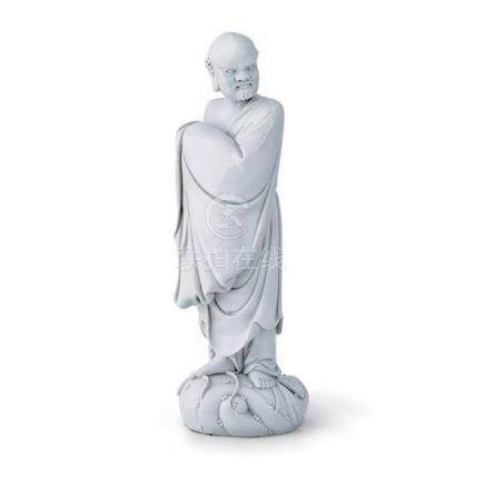 A large well modelled De Hua figure of Bodhidharma Qing dyna