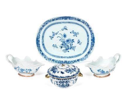 A group of export wares Qianlong (5)