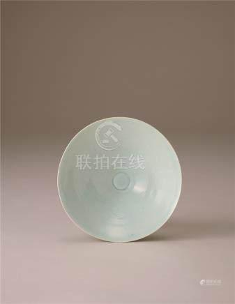 宋代 青白瓷凤凰纹碗