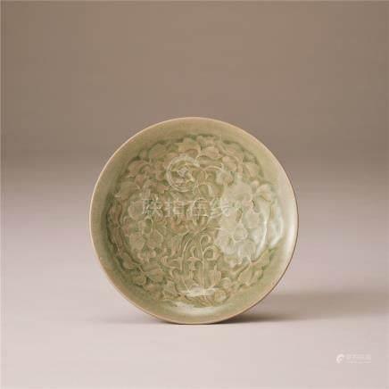 北宋 青瓷印花纹盘