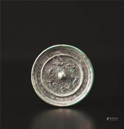 隋代 六兽镜