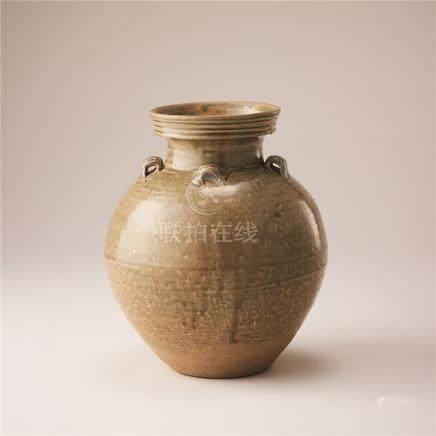 西晋 青瓷盘口瓶