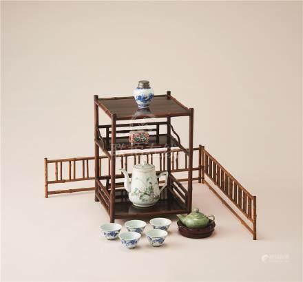 煎茶器 (一组)