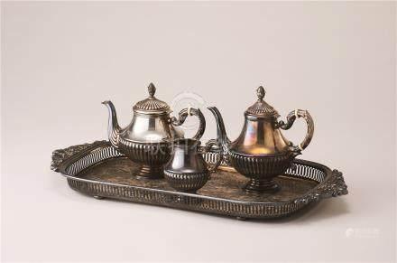 银制茶器 (一组)