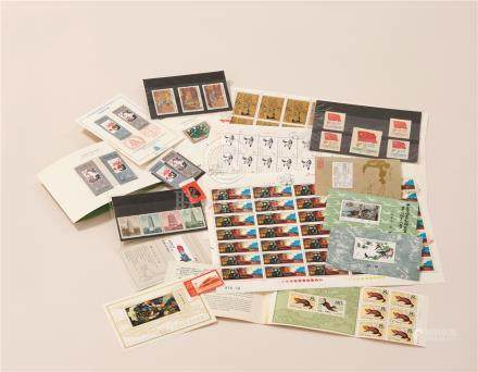 中国邮票 (一组)