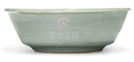 宋   龍泉窰青釉直沿洗
