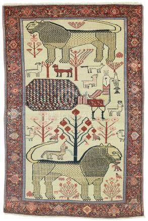 A Malayer rug, West Persia
