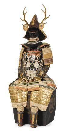 A FINE NUINOBE-DO TOSEI GUSOKU[ARMOUR] EDO PERIOD, 18TH - 19TH CENTURY