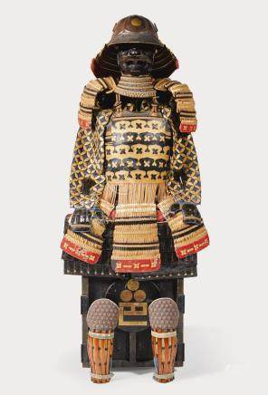 A KAWA TOJI NIMAI-DO GUSOKU[ARMOUR] EDO PERIOD, 19TH CENTURY