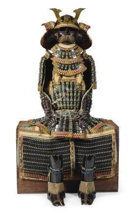 A MOGAMI-DO GUSOKU[ARMOUR] EDO PERIOD, 18TH - 19TH CENTURY