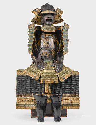 A HOTOKE-DO GUSOKU[ARMOUR] EDO PERIOD, 18TH CENTURY, THE HELMET 17TH CENTURY
