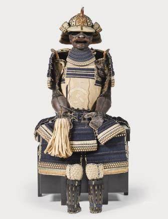 A RARE HOTOKE-DO TOSEI GUSOKU[ARMOUR] EDO PERIOD, 18TH - 19TH CENTURY