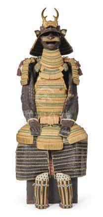 A NIMAI-DO GUSOKU[ARMOUR] EDO PERIOD, 18TH - 19TH CENTURY
