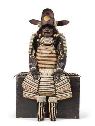 A VERY FINE HON-KOZANE TACHI-DO GUSOKU [ARMOUR] EDO PERIOD, 17TH CENTURY