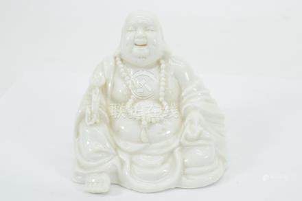 BLANC DE CHINE SEATED LAUGHING BUDDHA PUTAI