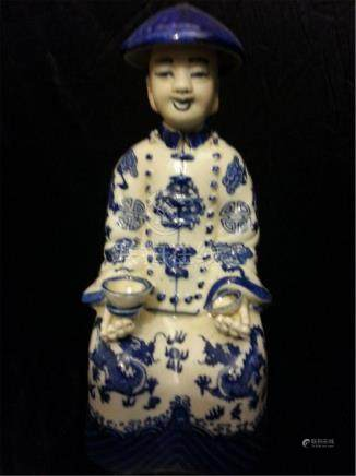 ANTIQUE CHINESE PORCELAIN King