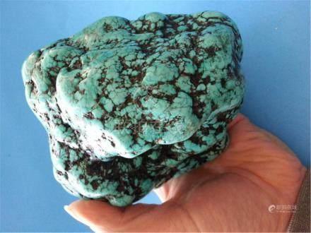 BIG Beautiful Turquoise 1972g