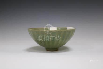 A Longquan Ware Bowl Repaired