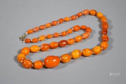 Butterscotch Amber Beads; 26G