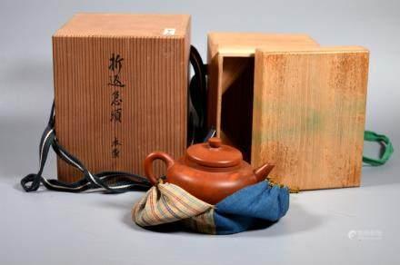 Chinese 18/19 C Yixing Teapot Japanese Storage Box