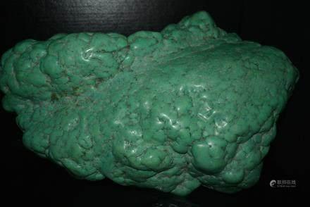 绿松石山子摆件:Natural Turquoise Decorative Article