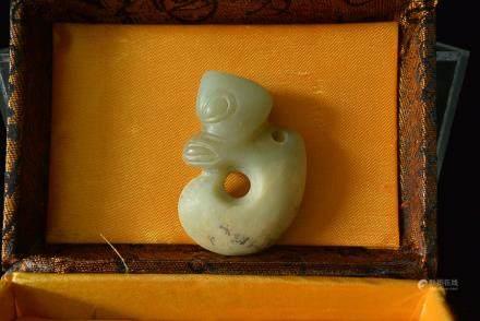 红山文化玉猪龙:A Chinese Hongshan Culture Jade Dragon