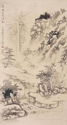 陳若海  山水