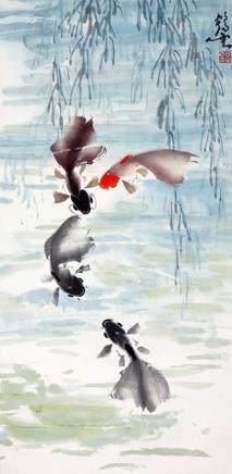 張鶴雲  金魚