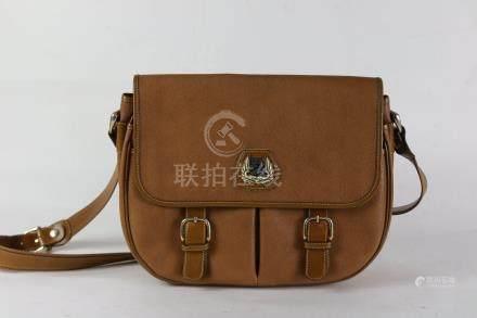 Lancel sac à main en cuir marron 26x34.Maroquinerie.