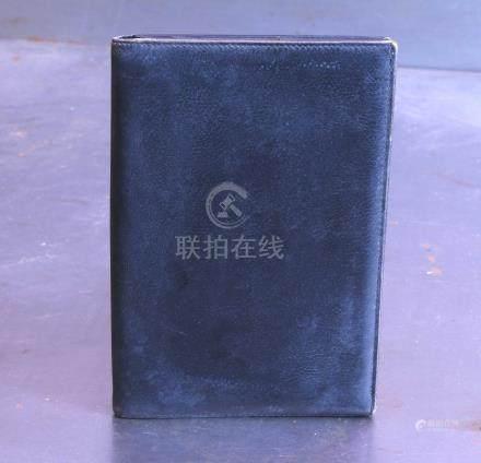 Le Tanneur portefeuille en cuir noir.maroquinerie.
