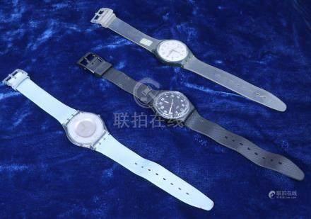 SWATCH, trois montres homme lot de montres