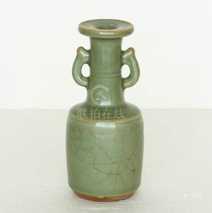 Chinese LongQuan-Kiln Porcelain Vase Southern Song