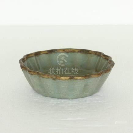 Chinese Guan-Kiln Porcelain Brush Washer Southern Song