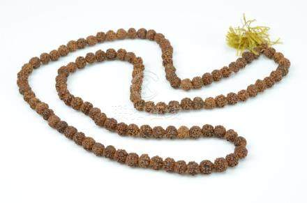 BUDDHIST PRAYER BEAD NECKLACE