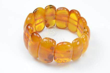 BUTTERSCOTCH NATURAL AMBER BRACELET