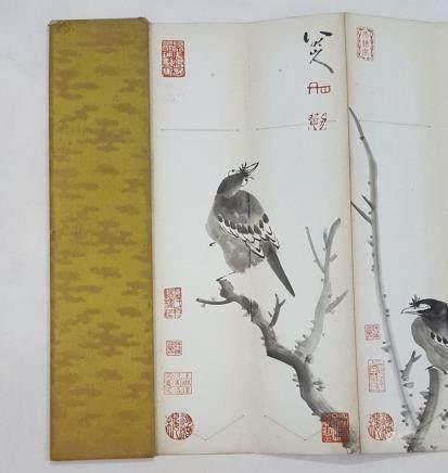 Chinese Albam Painting,Zhu Da (1626-1705)