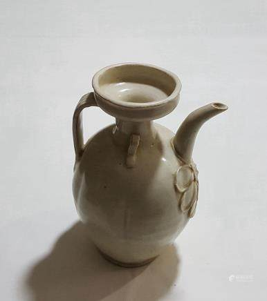 Chinese HuTian Porcelain Teapot
