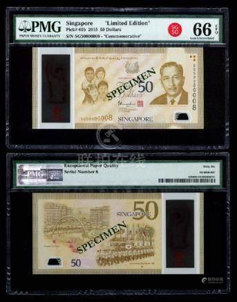 Singapore SG50 $50 SG50 000008 PMG