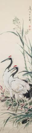 Attr. WANG XUETAO Chinese 1903-1982 Watercolor