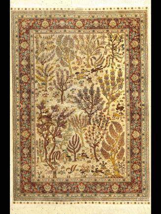 Hereke fine silk Rug, China, approx. 20 years,pure natural